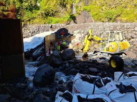 Prise d'eau des ORGUES - La Réunion