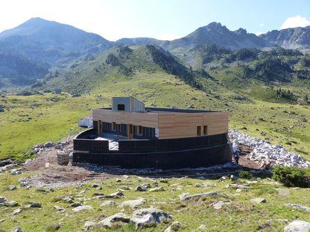 Construction refuge d'Aygues Cluses à Barèges (65)