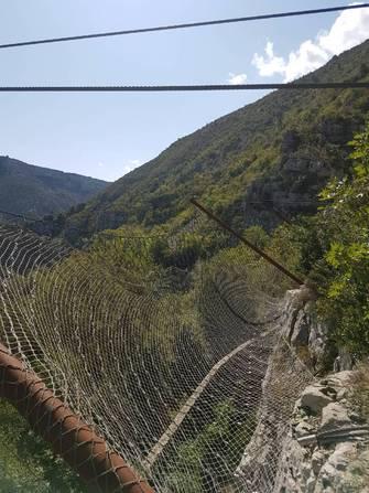 Travaux sécurisation Canal de Madières