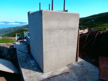Construction téléski Cardouet HAUTACAM
