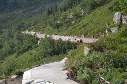 Réparation du canal de l'Ardiden