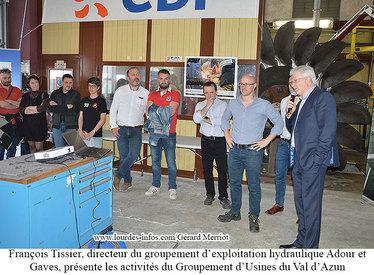 EDF HYDRAULIQUE à la rencontre des acteurs du territoire