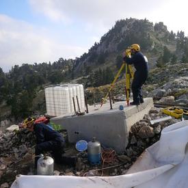 Construction télésiège 4 places PANORAMIQUE  la Pierre St Martin